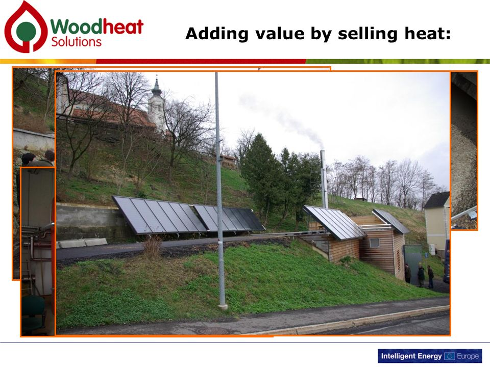 Adding value by selling heat: