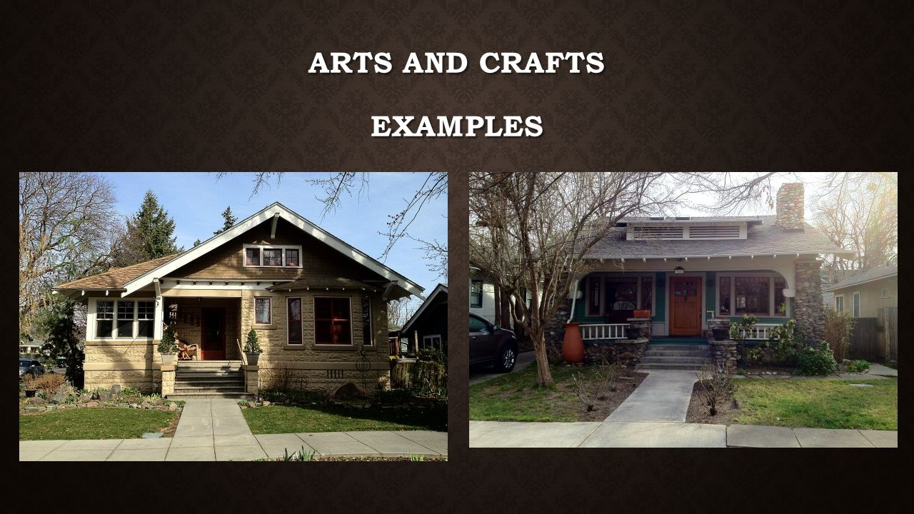 Art Deco Arts and Crafts Bungalow - ppt video online download