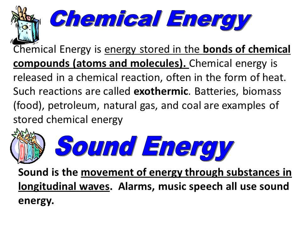 How Is Chemical Energy Stored In Food Molecules Released