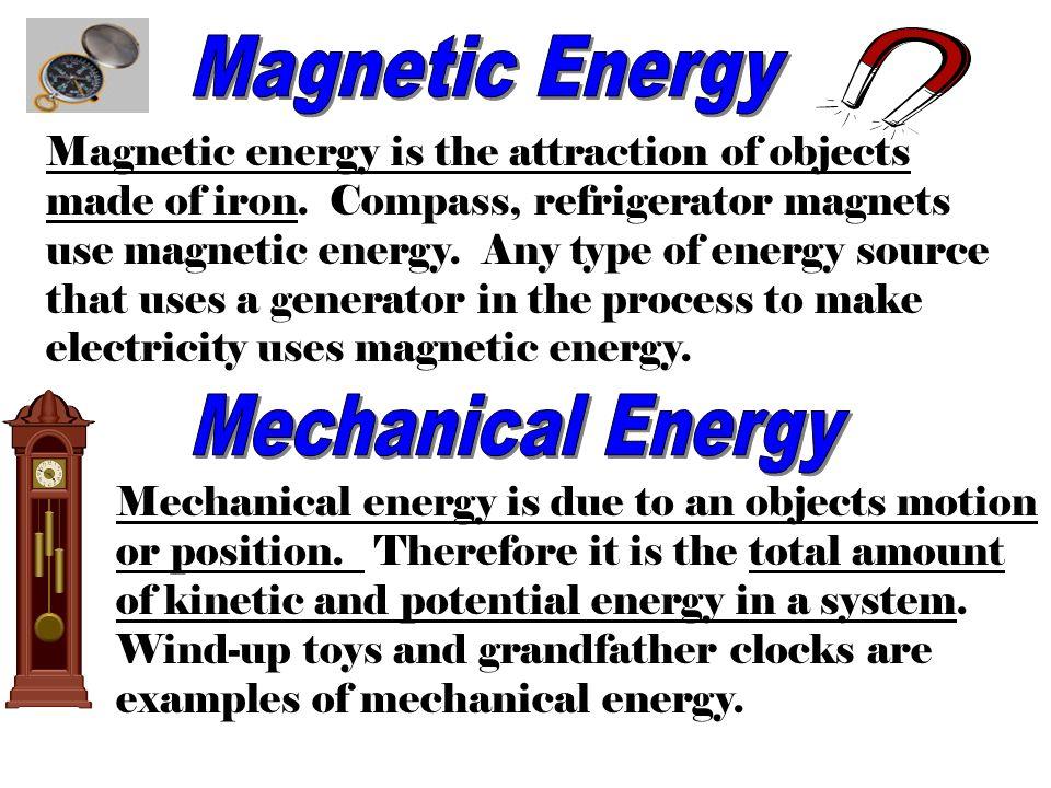 12 Magnetic Energy Mechanical
