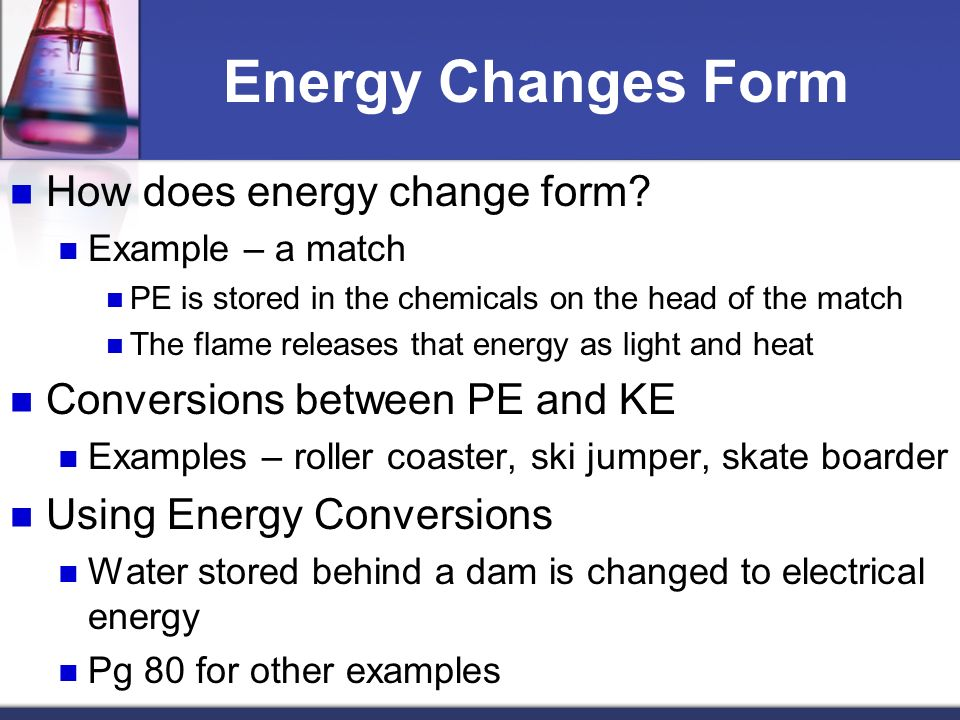Energy exists in different forms - ppt download