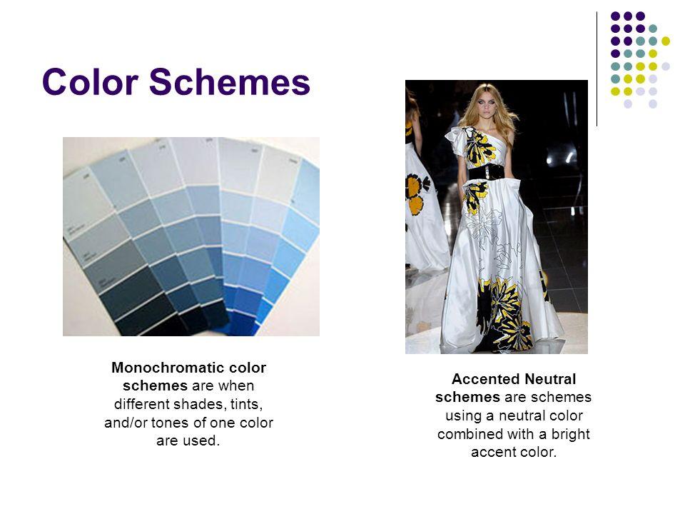 8 Color Schemes Monochromatic