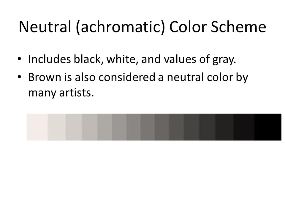 Is White A Neutral Color the color wheel. - ppt video online download