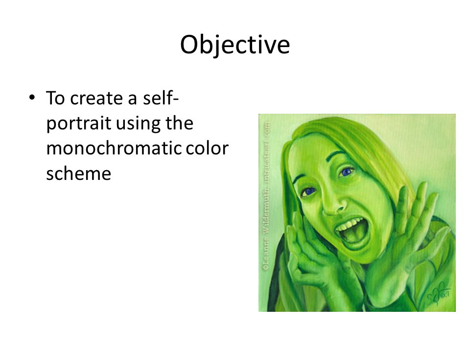 how to create a self portrait