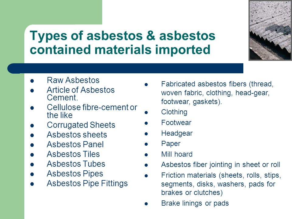Brake Lining Cement : Asbestos country profile bangladesh ppt video online