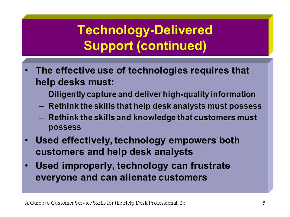 help desk in technical support information technology essay A technical support resume will outline an ability to handle a variety of support situations as well as some level of customer service experience companies want their technical support staff to be able to solve customer issues without causing customer animosity.