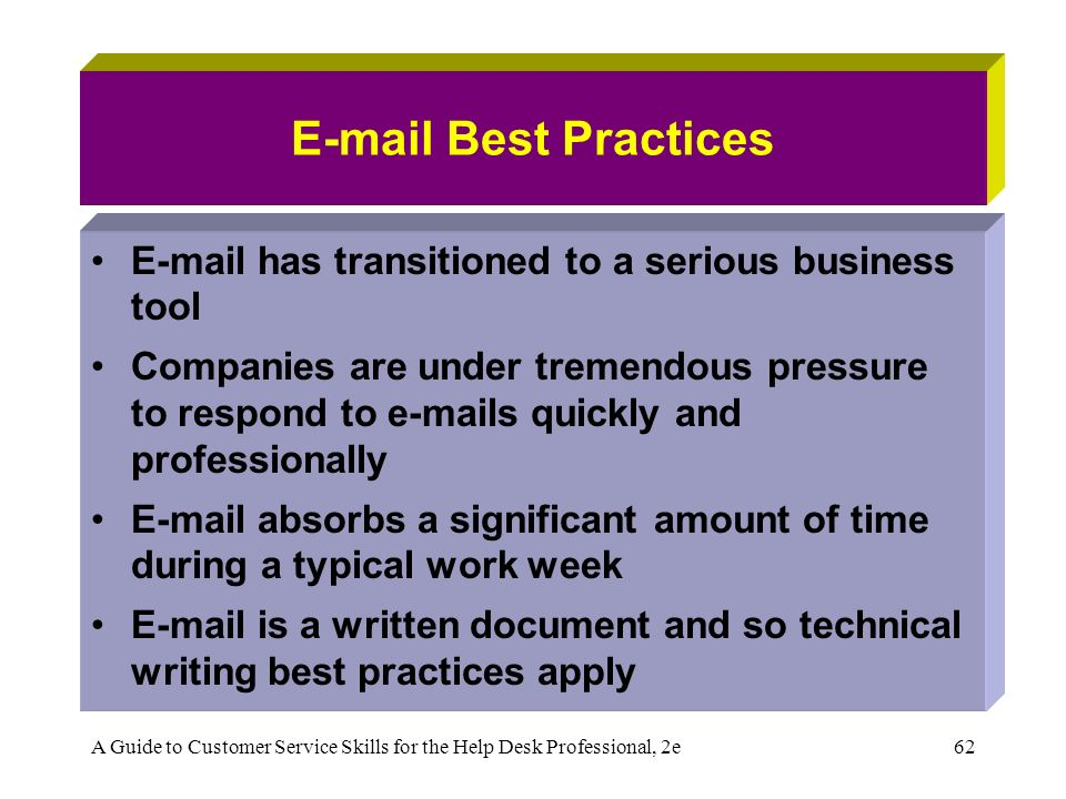 technical email writing
