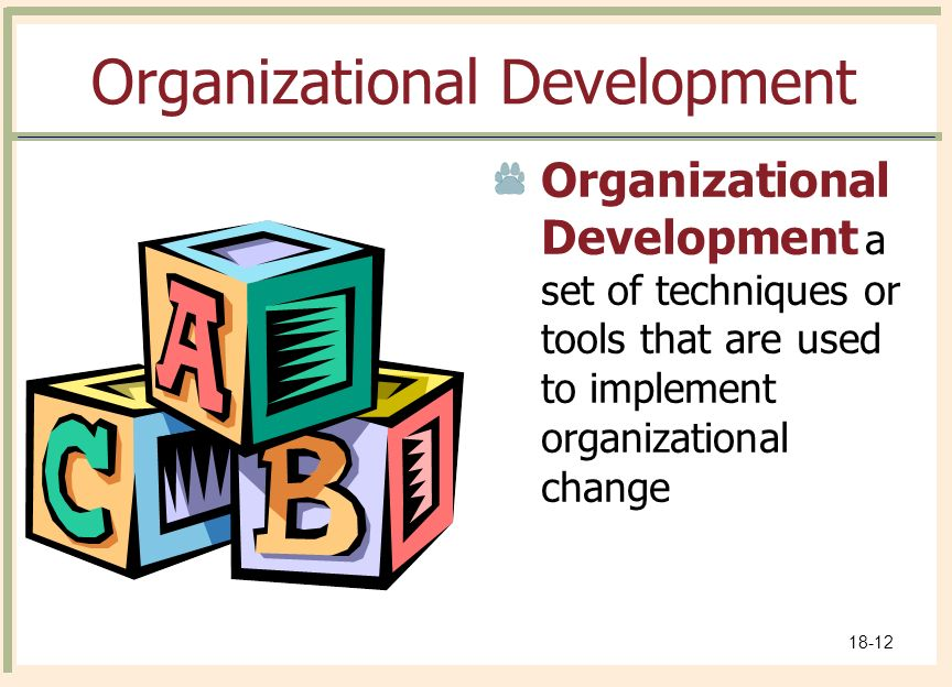 how to implement change in an organization