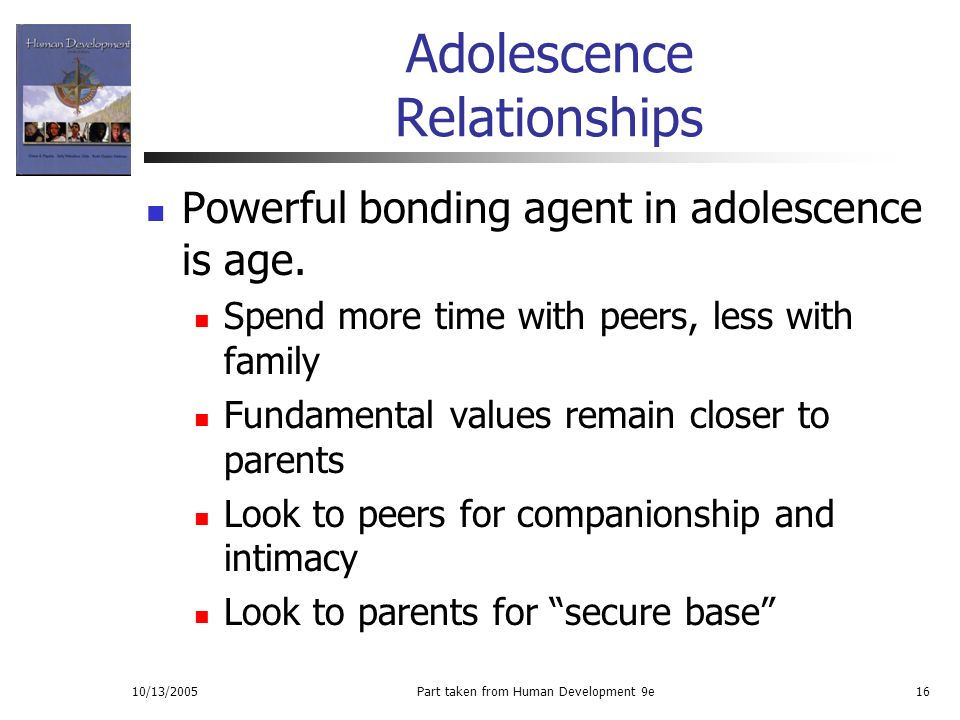 adolescence peers This study investigated child and early adolescent relationships with parents and  peers within the theoretical framework of attachment a cross-sectional sample.