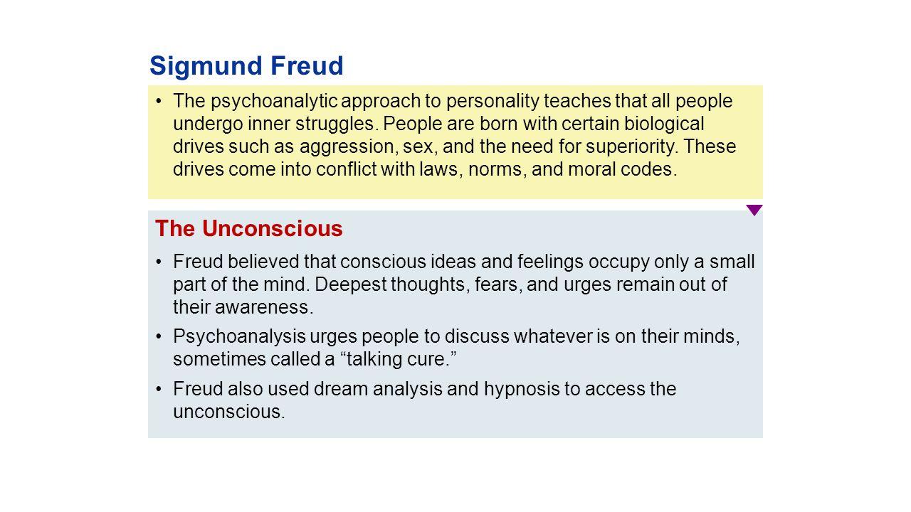 psychoanalysis a new approach to personality