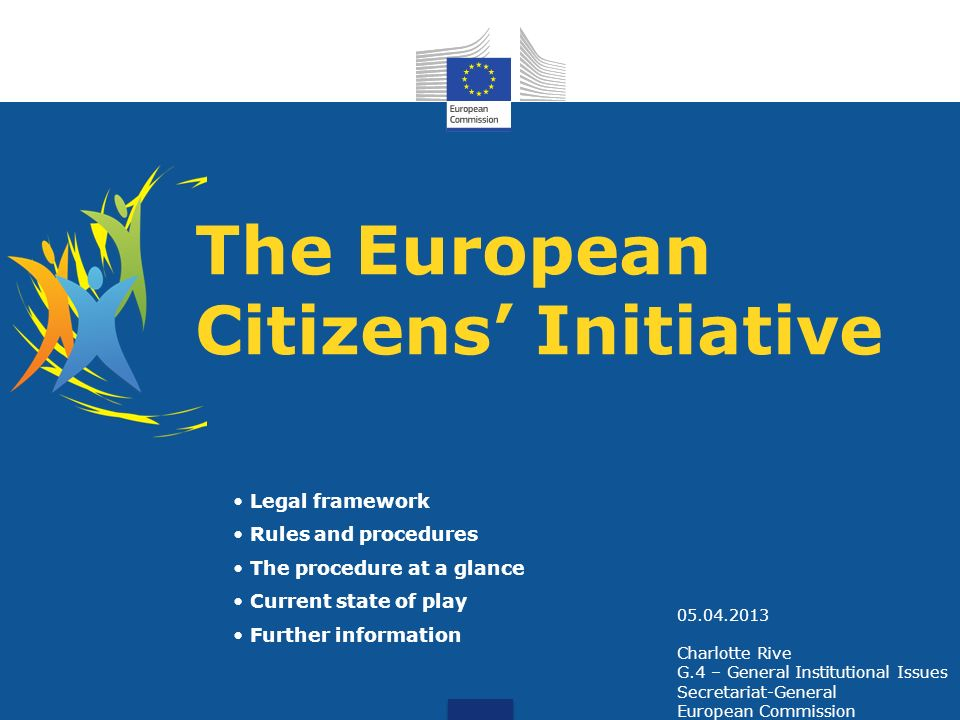 The European Citizens' Initiative
