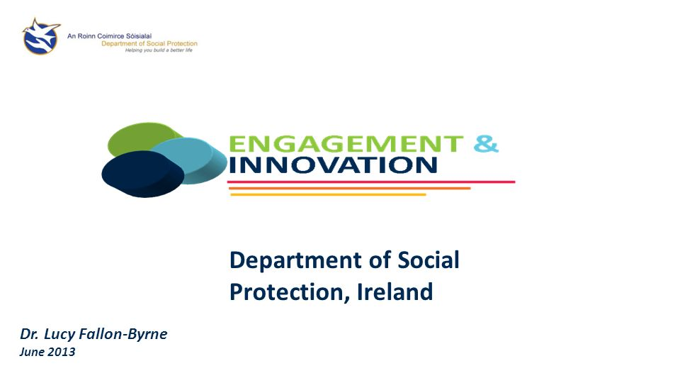 Department of Social Protection, Ireland