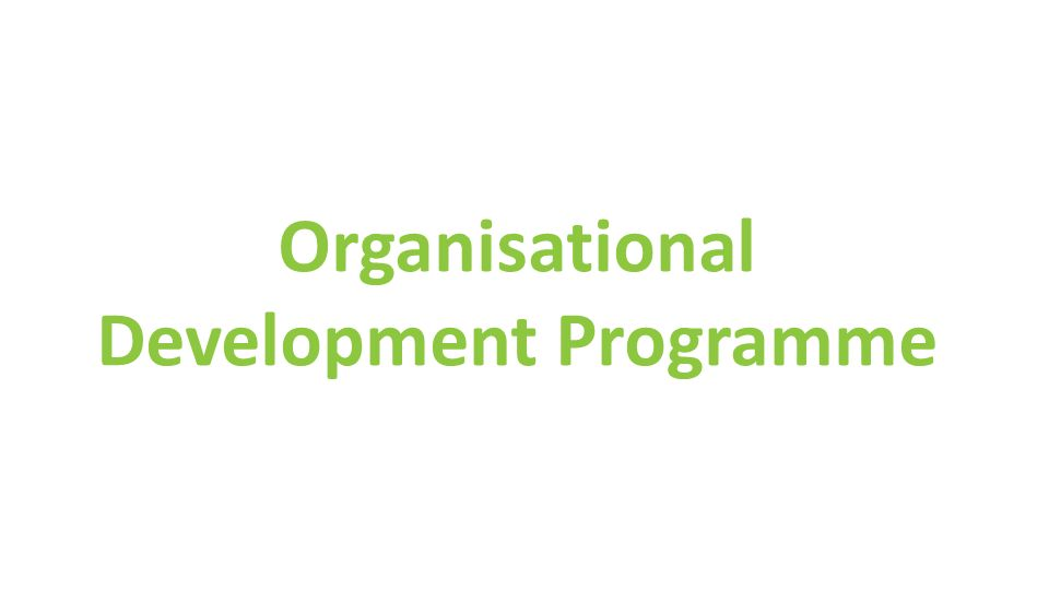 Organisational Development Programme