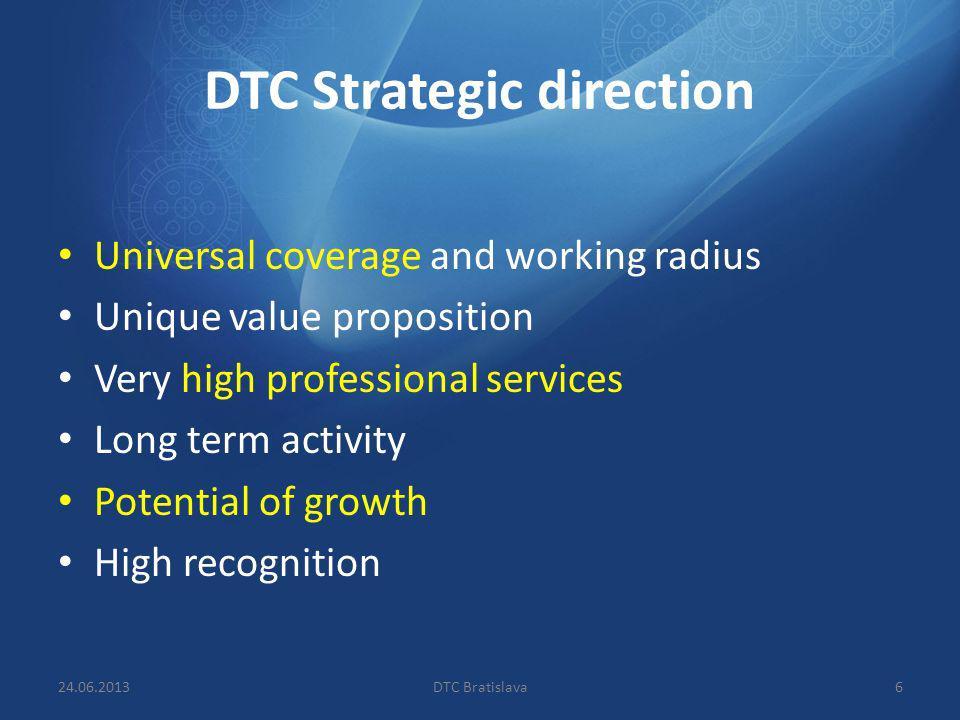 DTC Strategic direction