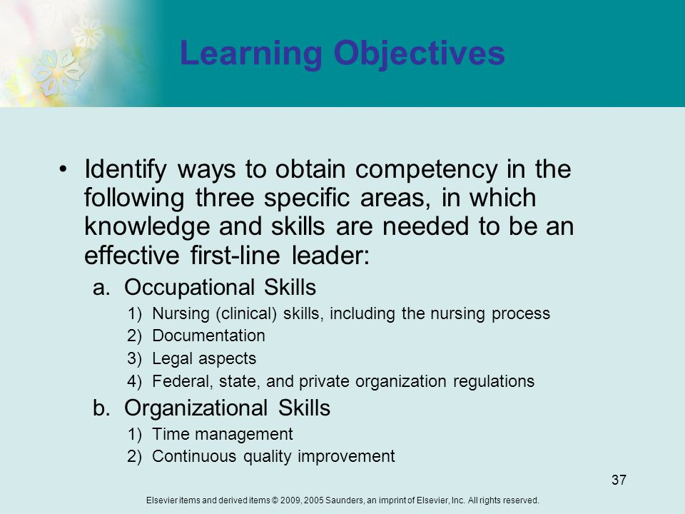 learning objectives chapter 15 Learning objectives, chapter 15, treatment of psychological disorders schacter, et al 2nd edition you are expected to read p 589-602 not all of the goals mentioned below will necessarily be discussed in class.