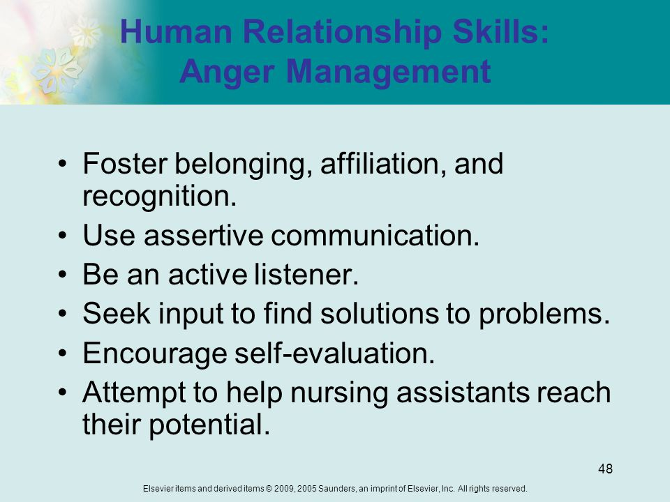 human relationship skills training and self help