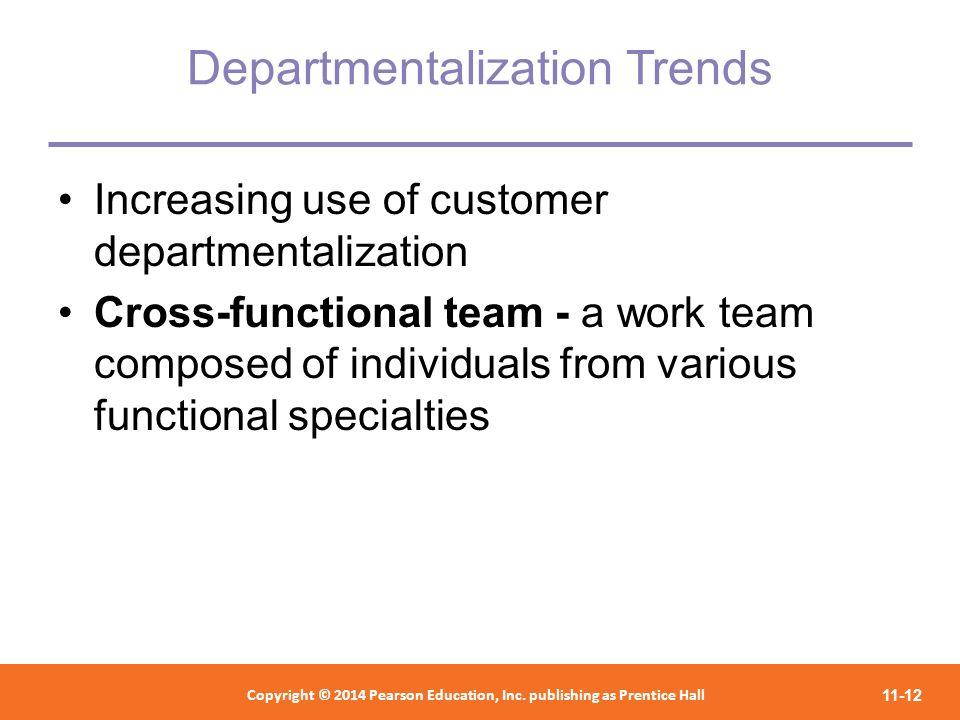 Departmentalization Trends