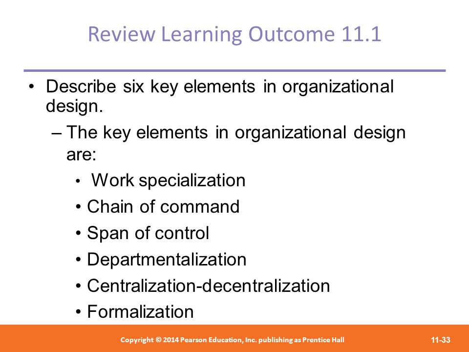 Review Learning Outcome 11.1