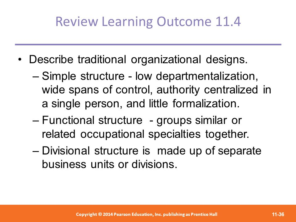 Review Learning Outcome 11.4