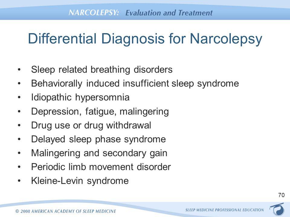 Diagnosing Narcolepsy - WebMD