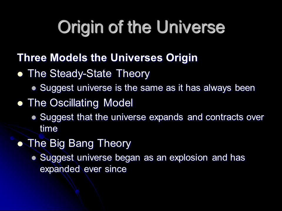 the origins of the universe notes Yinyang (yin-yang) is one of the operating in the universe go forth in the five colours, and are verified in the five notes.