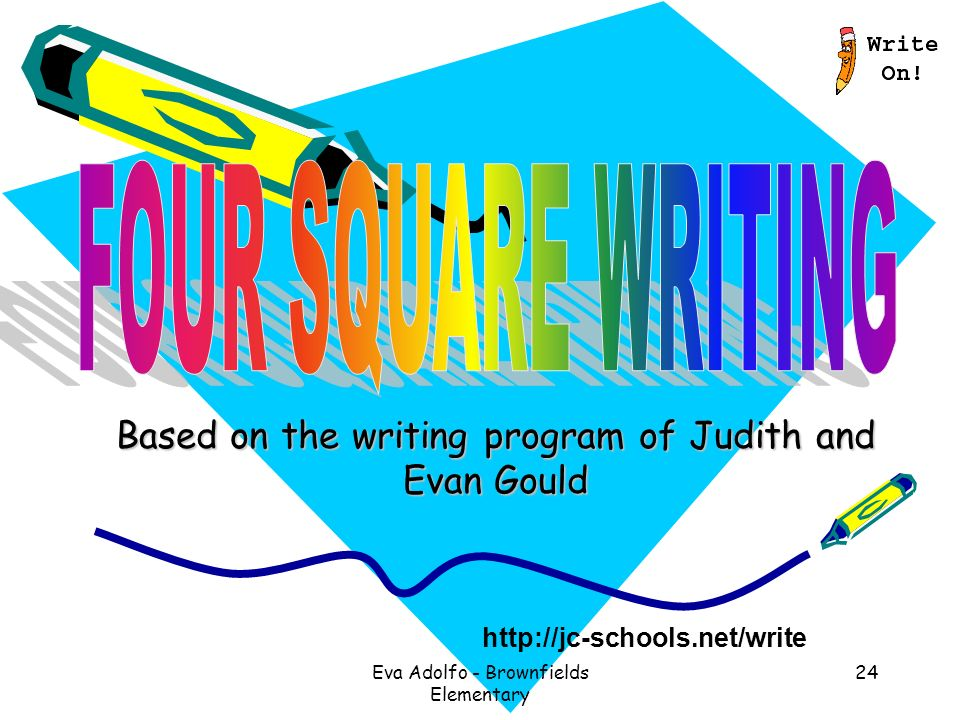 Elementary writing programs
