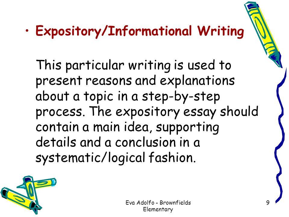Eva jospin expository essays