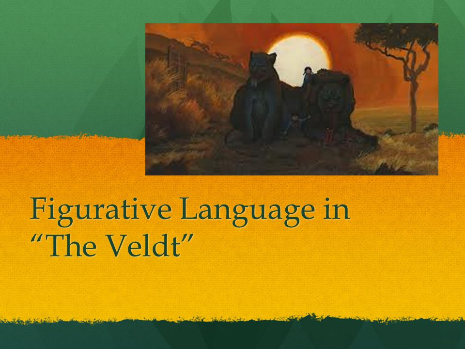 theme of the veldt This one-page guide includes a plot summary and brief analysis of the veldt by ray bradbury the veldt is a 1950 short and analysis of major themes.