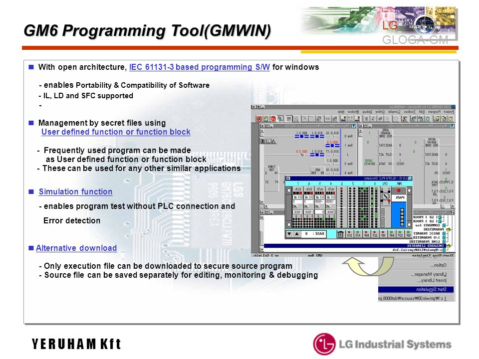 GM6 Programming Tool(GMWIN)