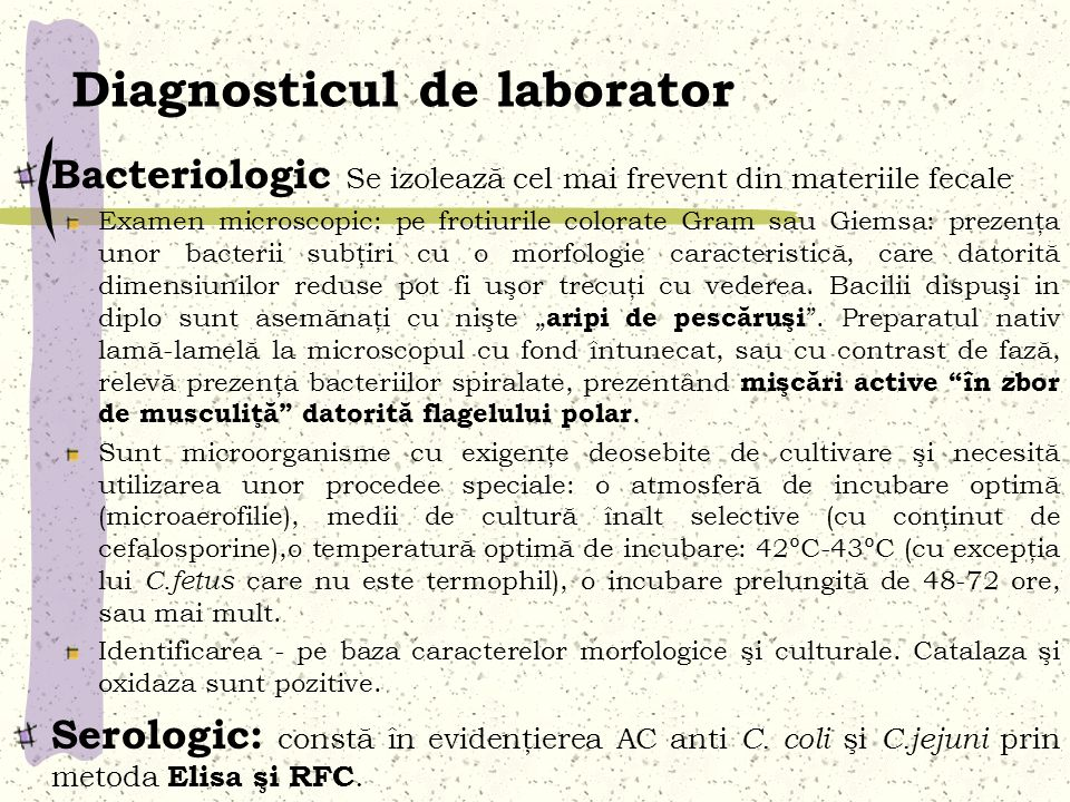 Diagnosticul de laborator