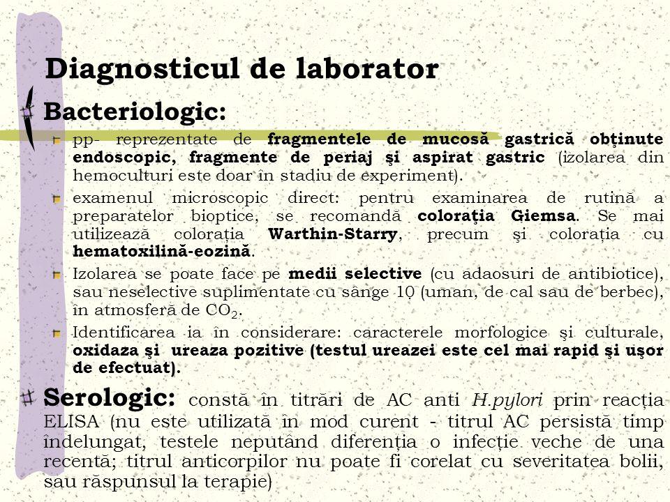 Diagnosticul de laborator