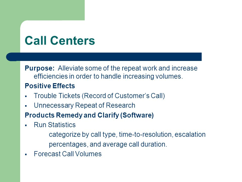 how to increase service level in a call center