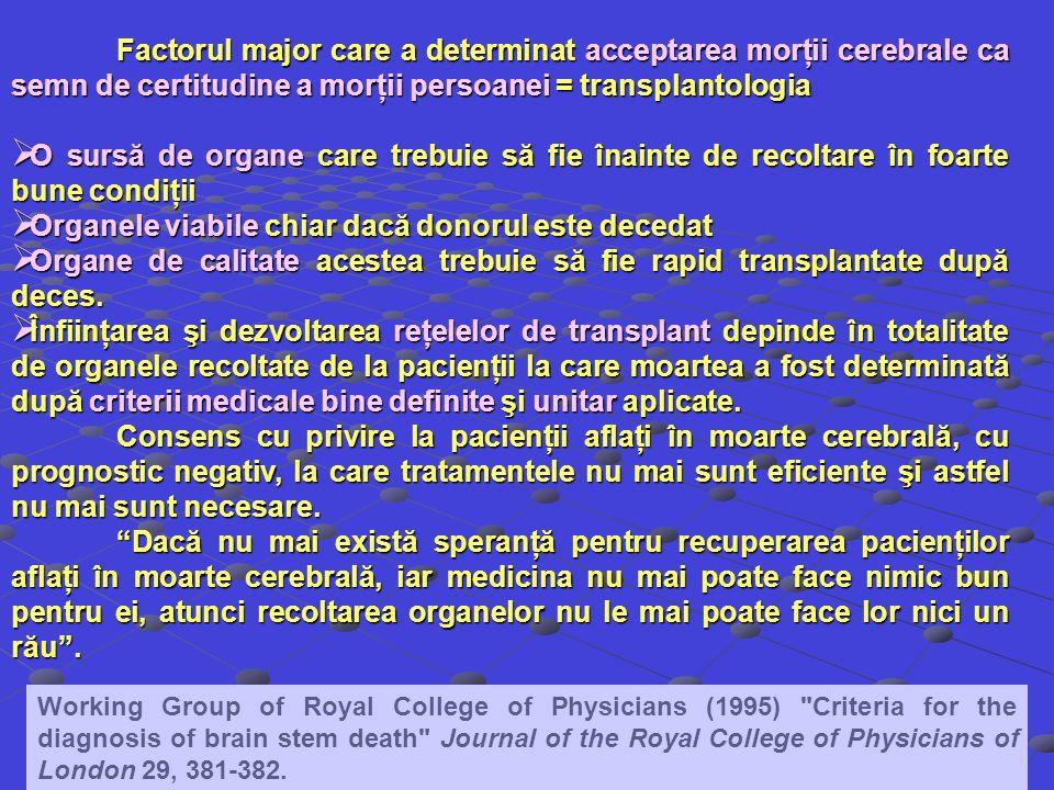 Organele viabile chiar dacă donorul este decedat