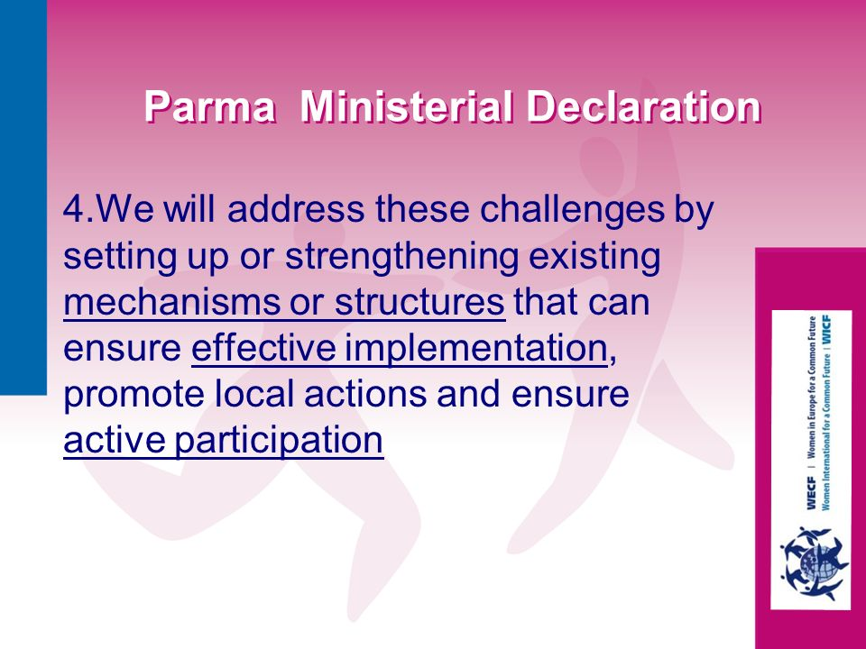 Parma Ministerial Declaration