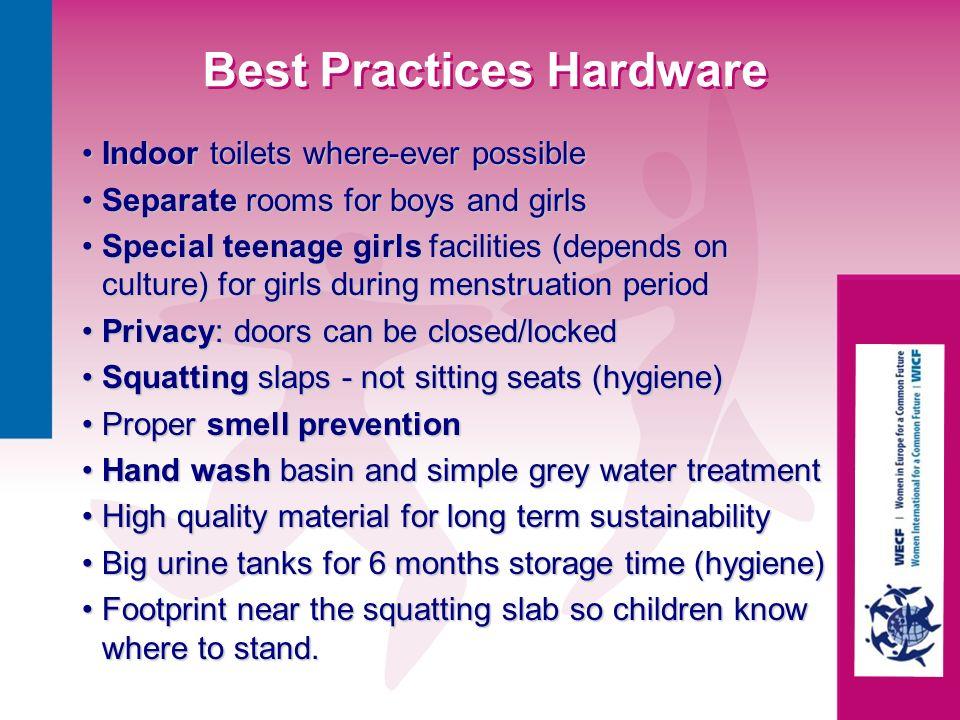 Best Practices Hardware