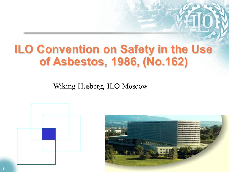 ILO Convention on Safety in the Use of Asbestos, 1986, (No.162)