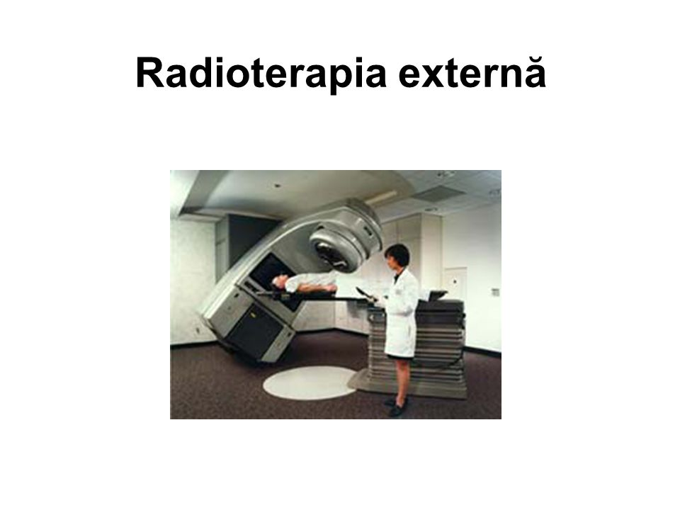 Radiation Therapy 3/28/2017 Radioterapia externă