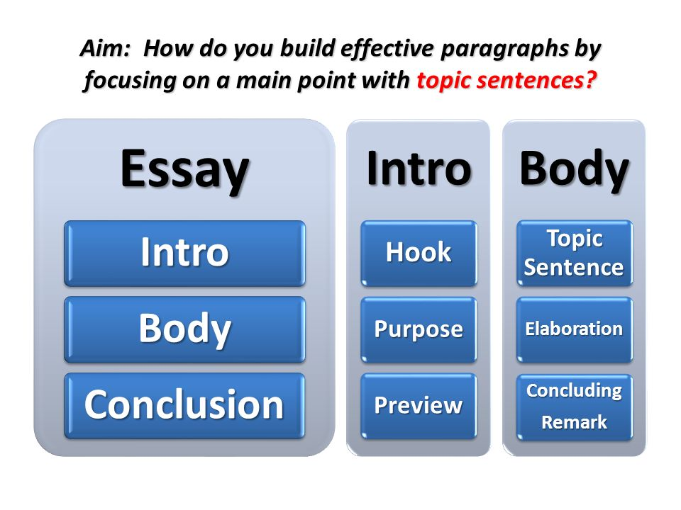 How many paragraphs should your college essay be