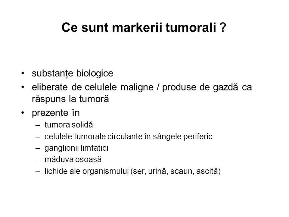 Ce sunt markerii tumorali?