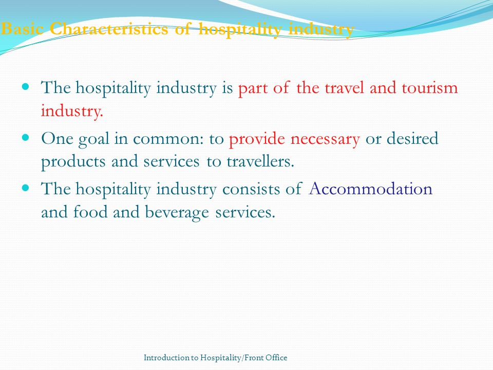 service characteristics of hospitality and tourism Download chapter 2 service characteristics of hospitality and tourism marketing powerpoint files from academicsrmuedu.