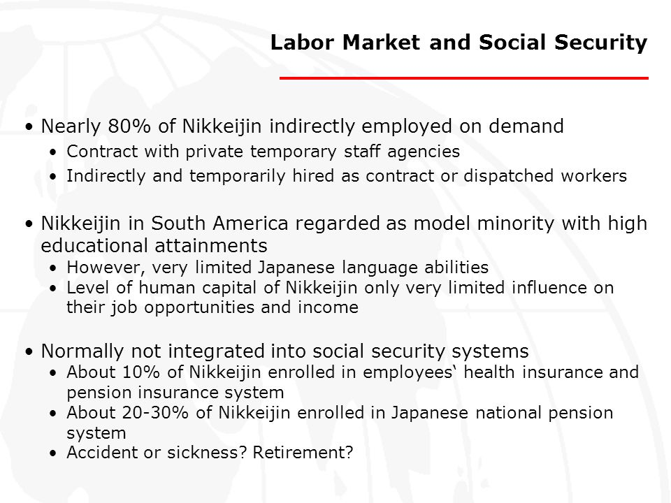 Labor Market and Social Security