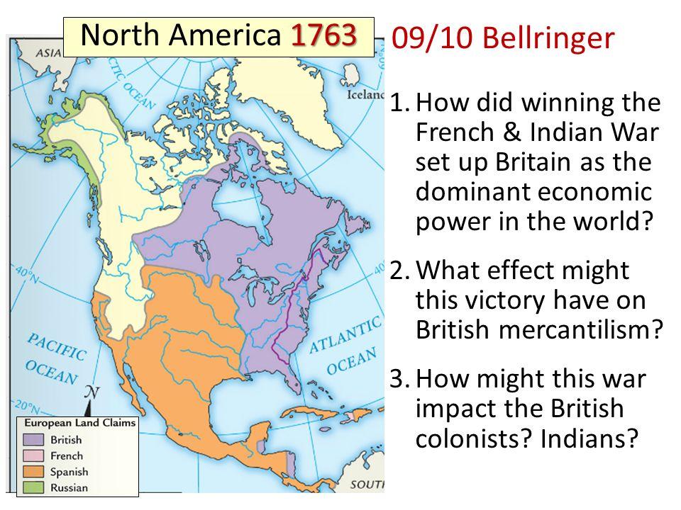 Bellringer North America Ppt Video Online Download - Map of us 1763