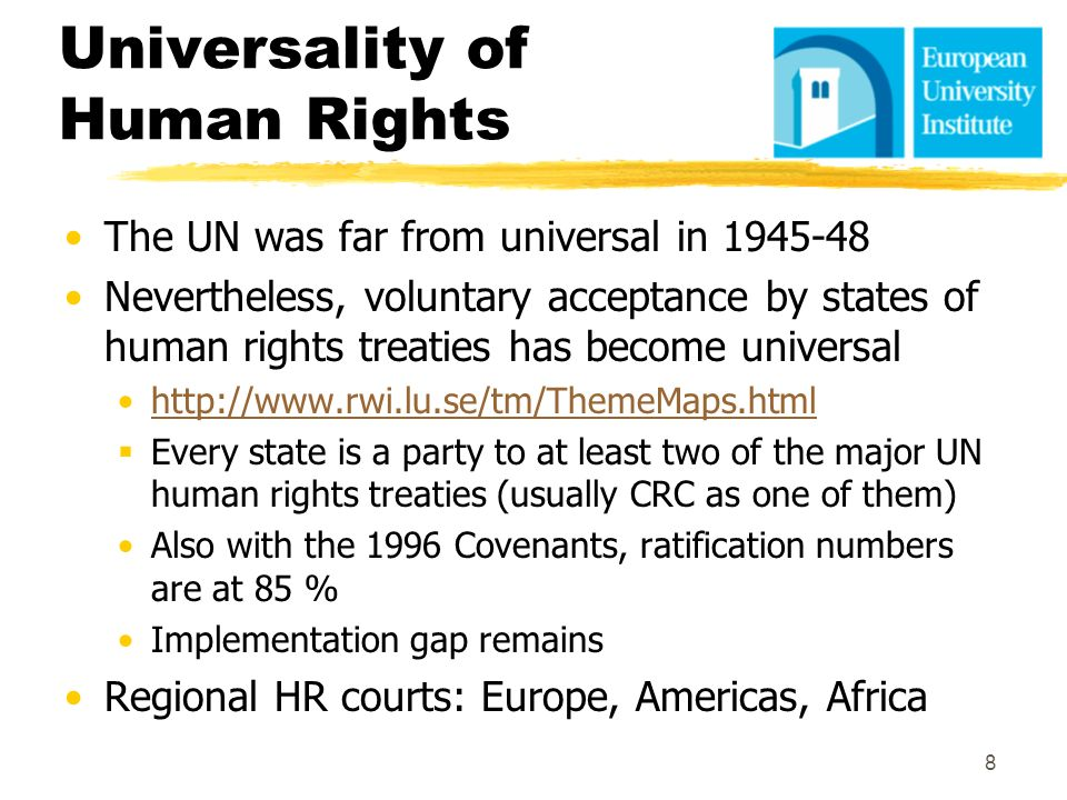 Universality of Human Rights