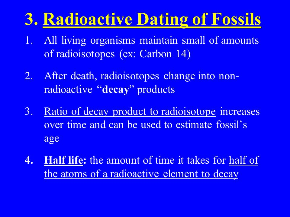 absolute dating of rocks and fossils 8.4