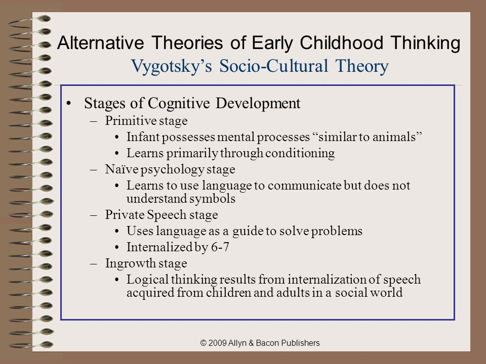 theories on early childhood social development Theories, models and perspectives - cheat sheet for field instructors  early childhood experiences are central in the patterning of an individual's .