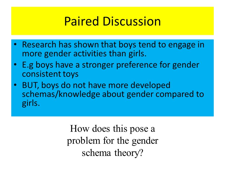 Gender-Role Development - The Development of Sex and Gender
