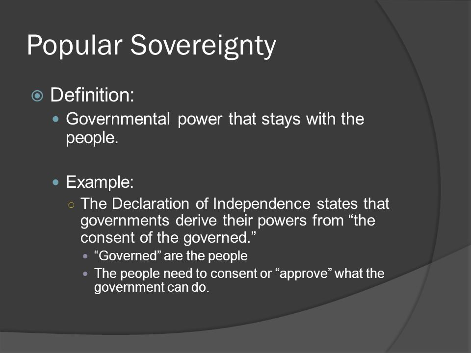 a definition of sovereignty Sovereignty is one of the most essential and unique features of the state find its  definition, features and 5 kinds of sovereignty.