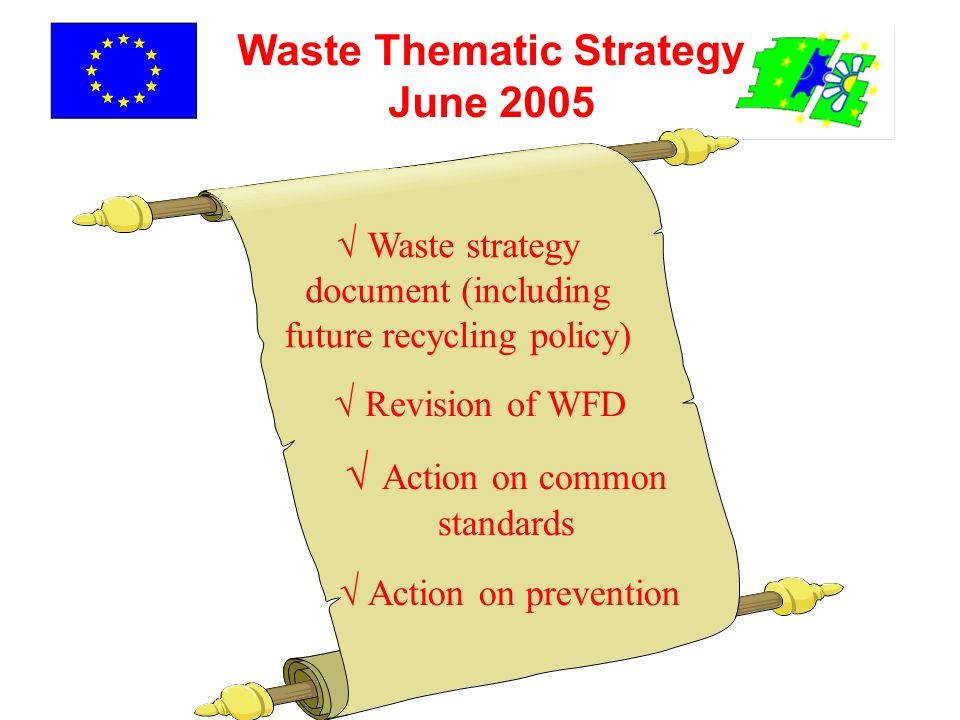 Waste Thematic Strategy June 2005
