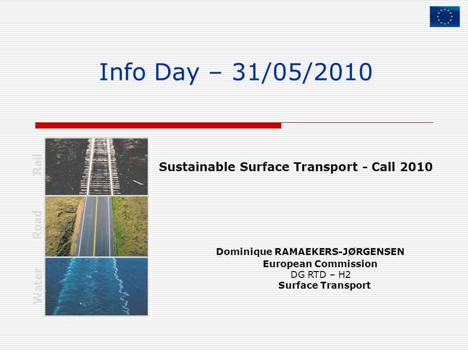 Sustainable Surface Transport - Call 2010
