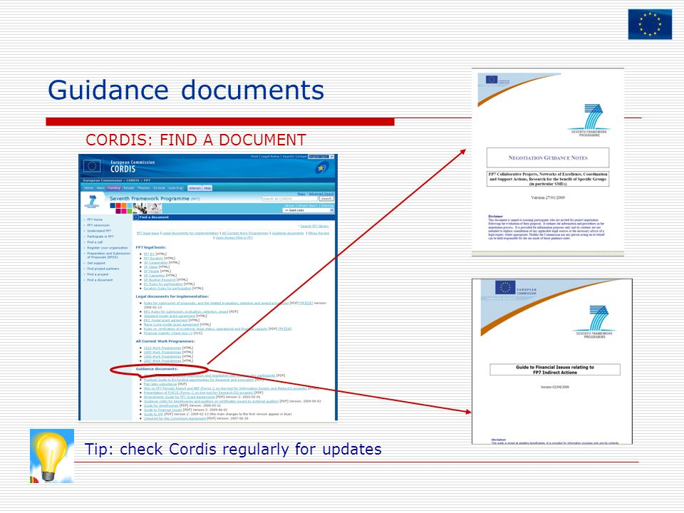 CORDIS: FIND A DOCUMENT